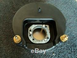 Harley Late Model 8 Round Bar and Shield Air Cleaner, EXCELLENT