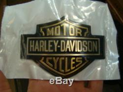 NEW Harley FXR Bar & Shield tank emblem 14072-86 FXRT FXRP FXRS FXRD NOS EP13891