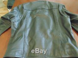 NEW Men's Harley Davidson Bar And Shield Leather Riding Jacket Size Large