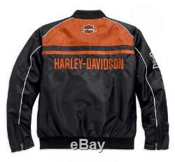 SALE! Harley-Davidson Men's Casual Jacket, Moto Ride Bar & Shield, Black 985
