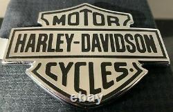 Tank Embleme Harley-davidson Bar & Shield Metall Selbstklebend Neu Rabatt -10 %