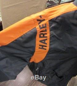 Very Nice Mens HARLEY DAVIDSON JACKET 97068-00V X-LARGE Bar & Shield Logo