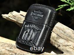 Zippo Lighter Harley Davidson Leather Bar and Shield Mint Super Rare