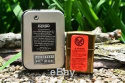 Zippo Lighter Harley Davidson Made in USA Eagle Bar & Shield 201FB H230