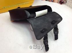 04-20 Harley Sportster Simple Face Swingarm Sac Noir Bar & Shield