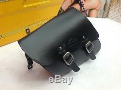 04-20 Harley Sportster Simple Face Swingarm Sac Noir Bar & Shield Withbracket