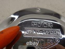1985-1999 Harley Davidson Evolution Nostalgic Bar & Shield Derby Cover