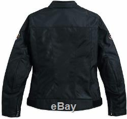 98169-17ew Harley-davidson Femmes Bar & Shield Logo Mesh Jacket New Riding