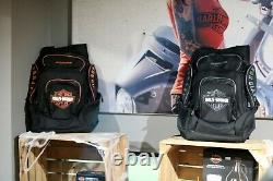 Bar De Luxe Et Sac À Dos Harley-davidson Gris Ou Orange Bp1900s