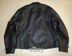 Bar Harley Davidson Et Le Bouclier D'équitation En Cuir Veste 2xl (mens)