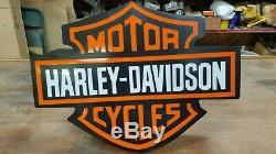 Bar Harley Davidson Et Le Bouclier Lighted Connexion