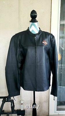 Bar Harley Davidson Pour Hommes Et Veste D'équitation Hd Shield Taille XL
