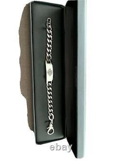 Bracelet Harley Davidson En Acier Inoxydable Avec Logo Bar Et Bouclier, 8 Pouces