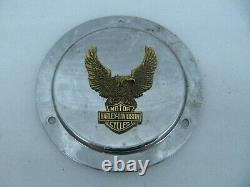 Couverture Originale Harley Davidson Derby Bar & Shield Eagle Médaillon Shovelhead Fxr