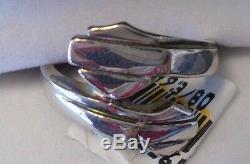 Double Bar Harley Davidson Women & Shield Ring Par Stamper
