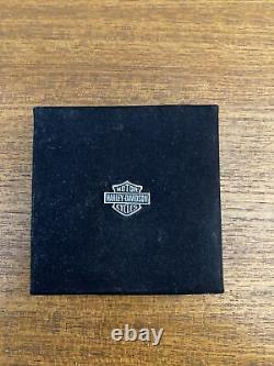 Ensemble De Bijoux Pour Femmes Harley Davidson Collier Boucles D'oreilles Correspondantes Bouclier De Boucles D'oreilles