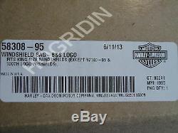 Harley Bar & Shield - Sacoche Pour Sac De Pare-brise - Softail Dyna Sportster 58308-95