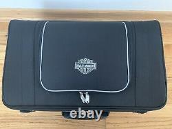 Harley Davidson 93300006 Bar & Shield Sac Rack Tour-pak À Fermeture Éclair Nylon Noir