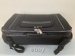 Harley Davidson 93300006 Bar & Shield Zippered Tour-pak Rack Bag Nylon Noir