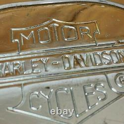 Harley Davidson Bar Et Bouclier Nostalgique Derby 5-hole Cover Pièce Oem # 25913-99