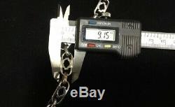 Harley Davidson Bar & Shield Argent Sterling Bracelet 7,25 17. Grams