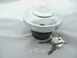 Harley Davidson Bar & Shield B & S Réservoir De Carburant Cap Verrouillables Carburant Cap 61100129