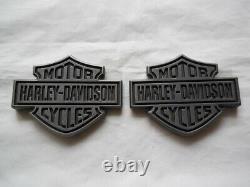 Harley Davidson Bar & Shield B & S Tankschilder Tankembleme 14100762 Et 14100763