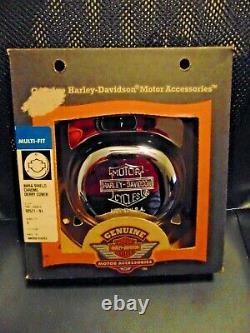 Harley Davidson Bar & Shield Nostalgique Derby Cover Heritage Springer Flsts