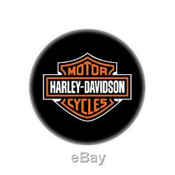 Harley Davidson Bar & Shield Tabouret De Bar Avec Dossier