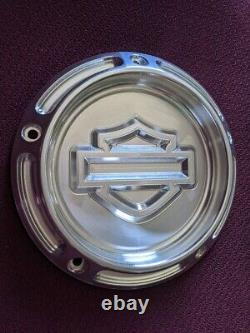 Harley Davidson Derby Cover Bar And Shield