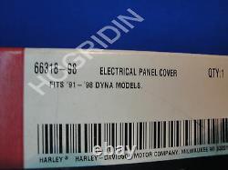 Harley Davidson Dyna Barre De Couverture De Panneau Électrique Et Bouclier Fxr De Glisse Large 66318-98