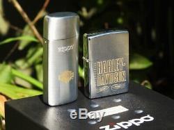 Harley Davidson H-d Zippo Avec Pocket Cendrier Gift Set Bar And Shield