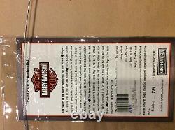 Harley Davidson History Of The Bar And Shield Framed Pin Set Limited Edition