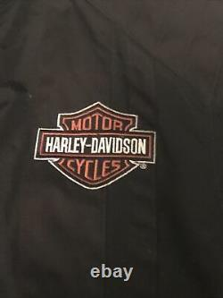 Harley Davidson Jacket Homme Taille Grande Barre Nylon & Bouclier Ceinturé 98001-03vm