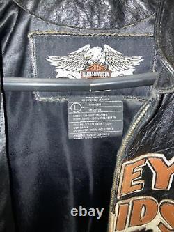 Harley Davidson Leather Bar & Shield Prestige Special Edition Veste Grande