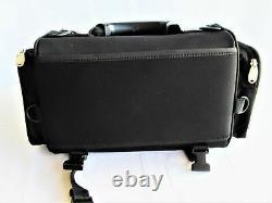 Harley Davidson Luggage Bag Bar Et Shield Overnight Black Nylon 93300005 Vgc Fs