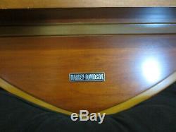 Harley Davidson Lunettes Os Tir Bar & Shield Police Et Bois Présentoir Rare