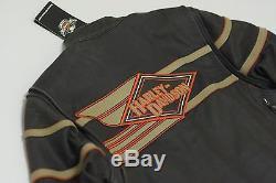 Harley Davidson Manteau Legend Pour Homme En Cuir Vieilli Bar & Shield 2xl 98025-12vm