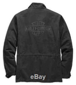 Harley Davidson Mens Bar & Shield Logo Veste Militaire Terrain Tn-o