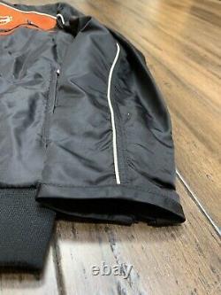 Harley Davidson Mens Casual Jacket Bar & Shield 98553-13vm Moto Ride Noir