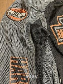 Harley Davidson Mesh Bar & Shield Logo Jacket 98223-13 Excellent