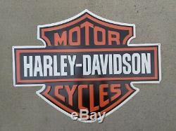 Harley Davidson Métal Embossé Bar & Shield Emblem Connexion