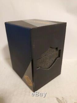 Harley Davidson Montre Bulova Bar Et Le Bouclier 76l193 Tn-o Box