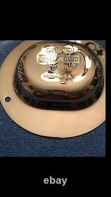 Harley Davidson Nostalgic Bar And Shield Top Hat Derby Cover Flsts 52571-91 Harley Davidson Nostalgic Bar And Shield Top Hat Derby Cover Flsts 52571-91 Harley Davidson Nostalgic Bar And Shield Top Hat Derby Cover Flsts 52571-91 Harley Davidson