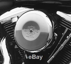 Harley Davidson Nostalgic Couvercle De Filtre À Air Et Filtre À Air 29138-91a