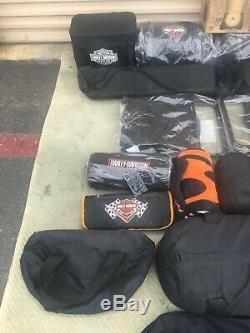 Harley Davidson Sac De Couchage Hdl-10016 Pour Motocyclettes Bar & Shield Camp Camping Nouveau