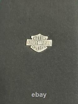 Harley Davidson Sterling 925 Cristal, Coeur, Bar & Shield, Collier Aile D'ange