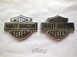 Harley Davidson Tankembleme Réservoir Embleme Bar & Shield B & S Tankschilder 62381-08