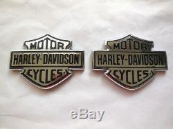 Harley Davidson Tankembleme Réservoir Embleme Tankschilder Bar & Shield B & S 62381-08