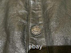Harley Davidson Veste En Cuir Pour Homme Bar Shield Snaps Large 98111-98vm